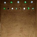 parete in mattoni terra-paglia