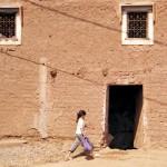nel villaggio di Tnine-Ourika